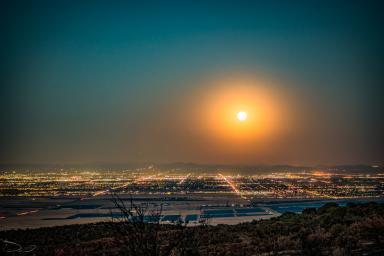 October Moonrise