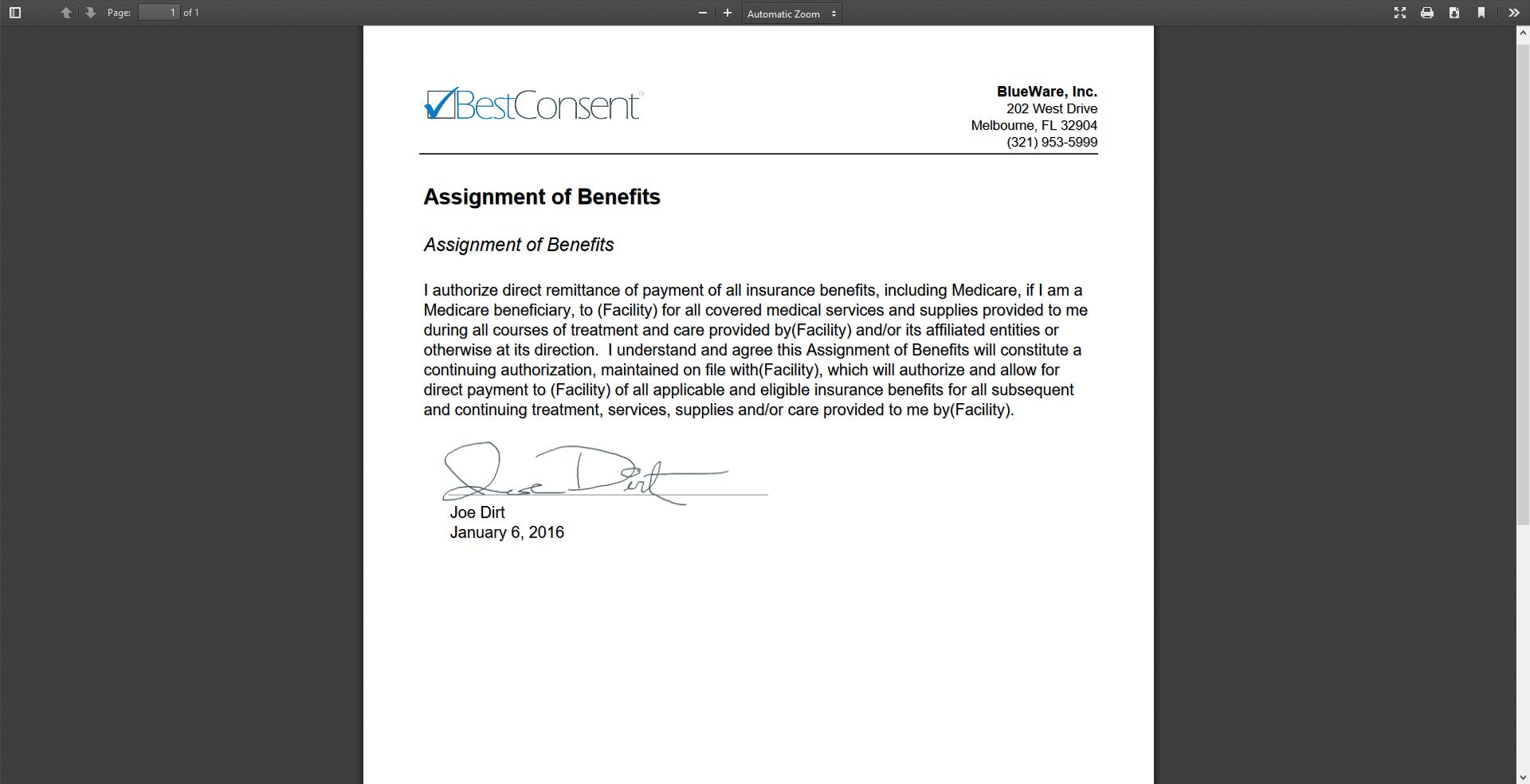 Patient - Document